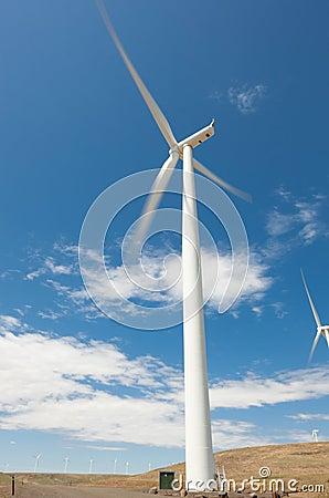 Moving Windmill
