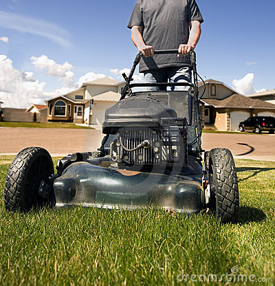 Free Mow The Lawn Stock Photos - 2441533