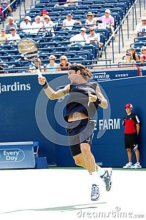 Moya Carlos Rogers Cup 2008 7 Editorial Stock Photo