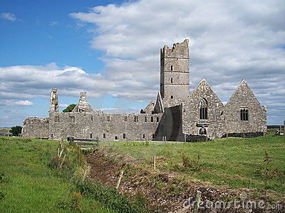 Moyne Abbey, Co. Mayo, Ireland