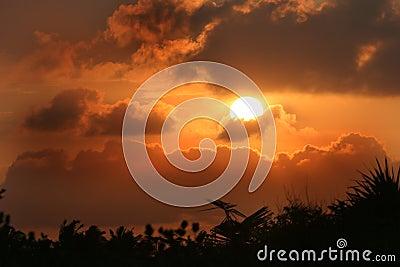 Mozabique Sunset