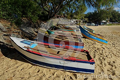 Mozambican Fishing Boats