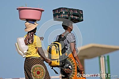Mozambican woman