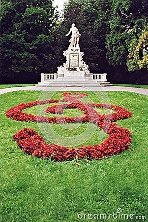 Mozart s statue in Vienna