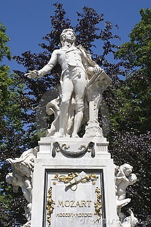 Image result for mozart park in vienna
