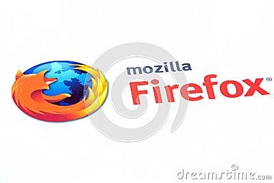 Editorial Image: Mozilla firefox logo. Image: 17894756