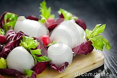 Mozzarella итальянки сыра