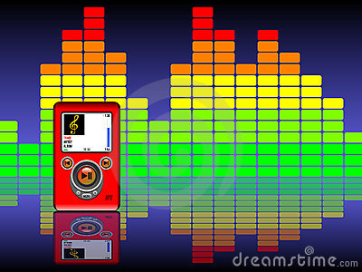 Mp3 & Equalizer Background
