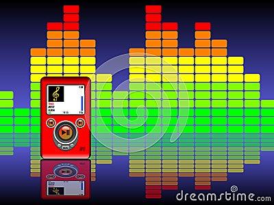 Mp3 & Equalizer Background