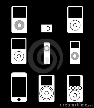 Free Mp3 Music Players Stock Photo - 12888860