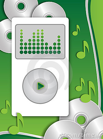Free Mp3 Player Stock Image - 3059841