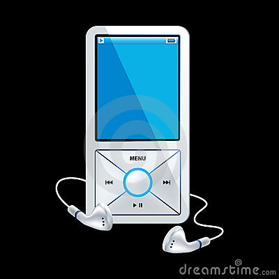 Mp3-player-white