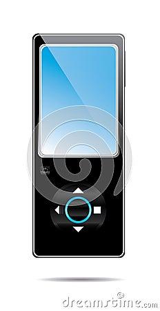MP3-Playervektor