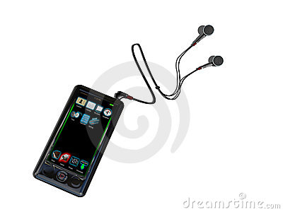 MP4 touch player