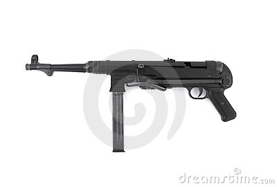 MP40 German submachine gun - World War II era