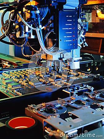 Máquina de la tarjeta de circuitos