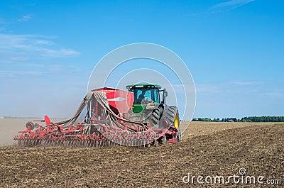 Máquina de semear Foto de Stock Editorial