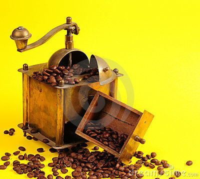 Máquina del café de la antigüedad
