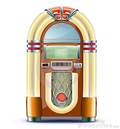 Máquina tocadiscos clásica
