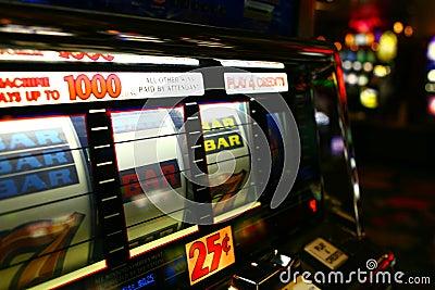 Máquinas tragaperras del casino