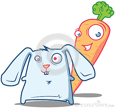 Mr. Carrot and Rabbit starring