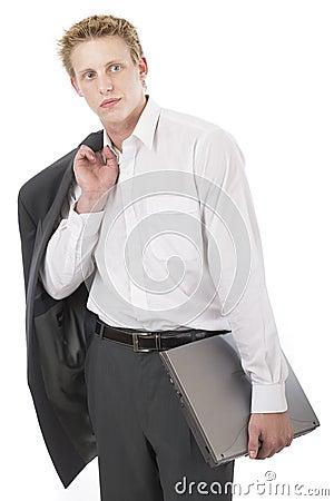 Free Mr Cool Laptop 1 Royalty Free Stock Image - 656546
