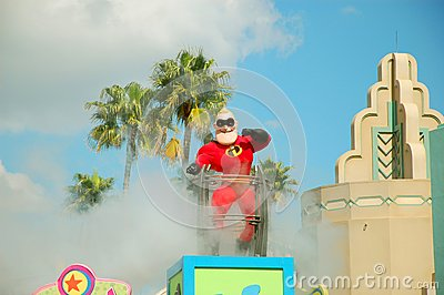 Mr Incredible Editorial Image