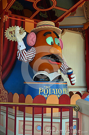 Mr. Potato Head Editorial Image