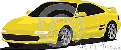 MR2 Turbo Sports Car