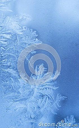 Märchenhafter Winterhintergrund