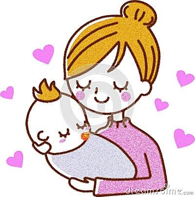 Mère et chéri