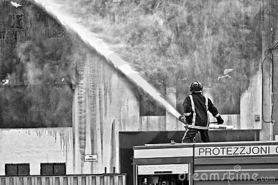 Mriehel Fire Editorial Photography