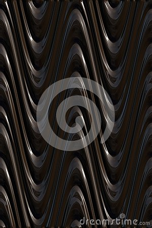 Mörka waves för modell 3d