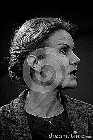Ms.Helle Thorning-Schmidt Danish prime minister