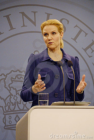 Ms.HELLE THORNING SCHMIDT_PRIME MINISTER Editorial Photography