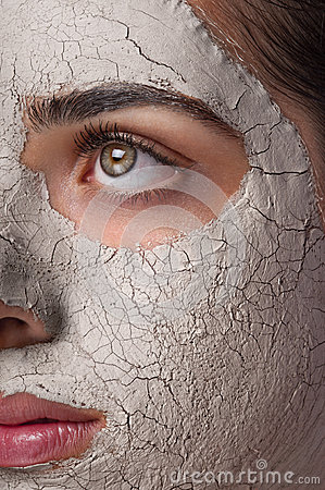 Máscara da argila