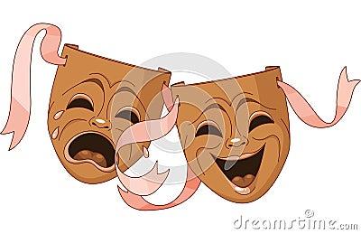 Máscaras da tragédia e da comédia