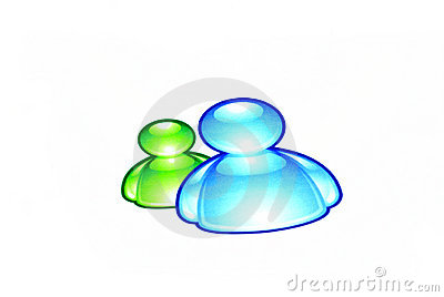 MSN messenger logo Editorial Photo