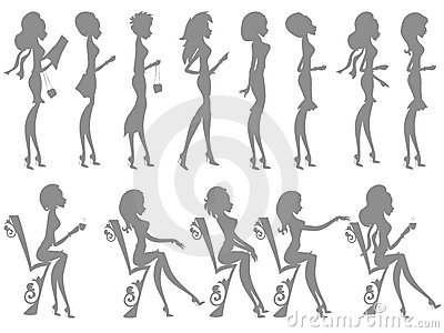 Mss Boo silhouettes