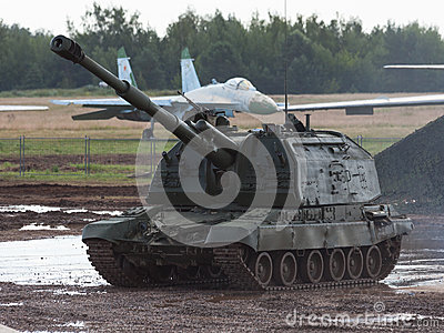 MSTA - Russian self-propelled howitzer