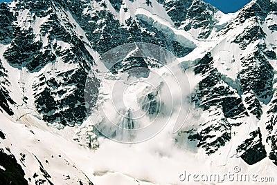 Mt. Elbrus, Russia avalanche