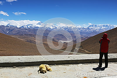 Mt. Everest and flannelette temple