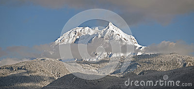 Mt. Garibaldi with Diamond Peak