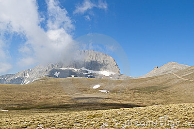 Mt. Olympus in Greece. The  Muses  plateau