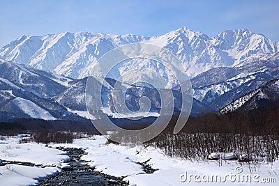 Mt. Shiroumadake, Nagano Japan