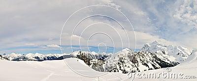 Mt Shuksan panaramic view