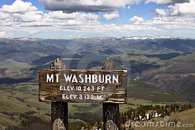 Mt. Washburn, Yellowstone Park