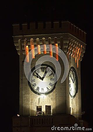 Free Mtarfa Clocktower Stock Image - 11043541