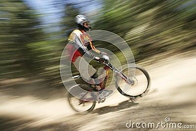 MTB racer