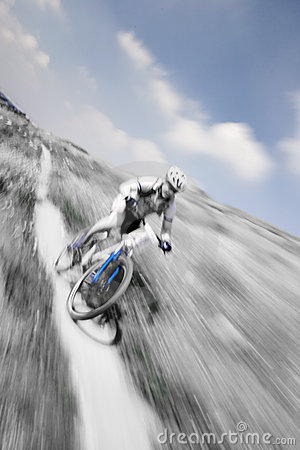 Free MTB Racer Stock Image - 165301